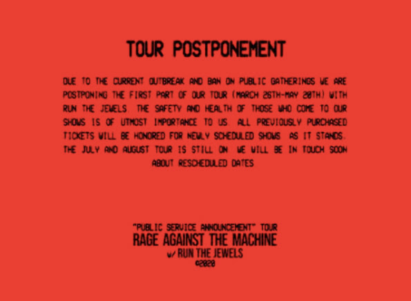 News: Rage Against The Machine with Run The Jewels Tour ...
